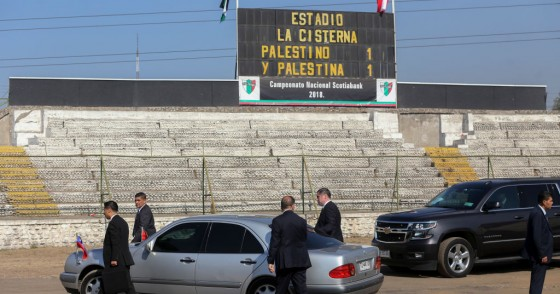 Abbas leaves Palestino football club in Santiago, Chile