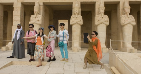 Chinese Tourists in Egypt
