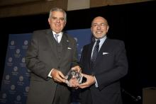 Ray LaHood and Shafik Gabr