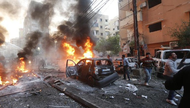 Beirut Car Bombing Continues Deadly Escalation Middle