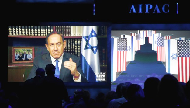 Partisan Divide on Show at AIPAC Conference
