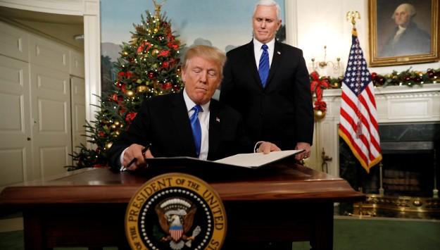 Trump's Jerusalem Announcement