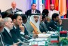 Oil ministers attend the 176th meeting of the Organization of the Petroleum Exporting Countries (OPEC) conference and the 6th meeting of the OPEC and non-OPEC countries on July 1, 2019 in Vienna, Austria.